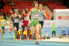 European Indoor Athletics Championship 2013 Stock Photo