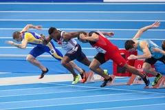 European Indoor Athletics Championship 2013 Royalty Free Stock Image