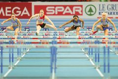 European Indoor Athletics Championship 2013 Royalty Free Stock Photos