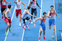 European Indoor Athletics Championship 2013 Royalty Free Stock Photo