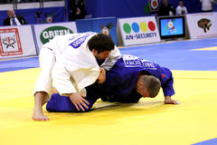 European judo championships 2013 Royalty Free Stock Photos