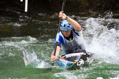 European Junior and U23 Canoe Slalom Championship Stock Photos