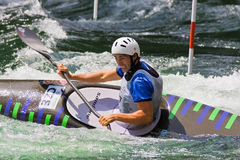 European Junior and U23 Canoe Slalom Championship Royalty Free Stock Images