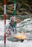 European Junior and U23 Canoe Slalom Championships Royalty Free Stock Images