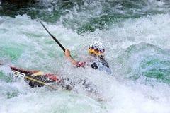 European Junior and U23 Canoe Slalom Championships Stock Photos