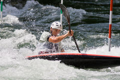 European Junior and U23 Canoe Slalom Championships Royalty Free Stock Photography