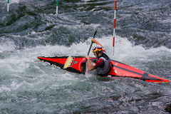 European Junior and U23 Canoe Slalom Championships Stock Image