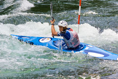European Junior and U23 Canoe Slalom Championships Stock Photography