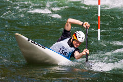 European Junior and U23 Canoe Slalom Championships Royalty Free Stock Photos