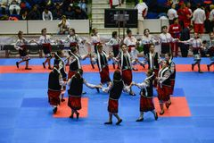 European karate championship stock photo