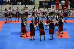 European karate championship stock image