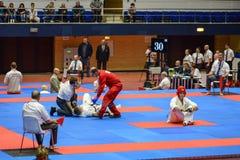 European karate championship royalty free stock photos