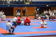 European karate championship royalty free stock images