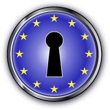 European Key Royalty Free Stock Photos