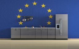 European kitchen Royalty Free Stock Photography