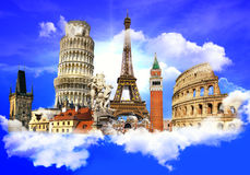 European landmarks Royalty Free Stock Photo