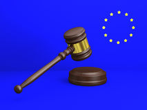 European law Stock Photo