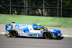 European Le Mans Series Dallara Sports Prototype Royalty Free Stock Images