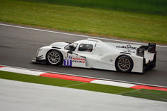 European Le Mans Series Ginetta - Nissan at Imola Royalty Free Stock Images