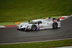 European Le Mans Series Ginetta - Nissan at Imola Royalty Free Stock Photo