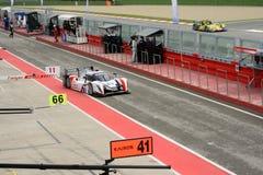 European Le Mans Series Ginetta - Nissan at Imola Stock Photo