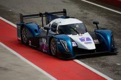 European Le Mans Series Ginetta - Nissan at Imola Royalty Free Stock Image