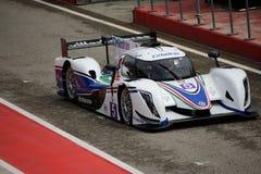 European Le Mans Series Ginetta - Nissan at Imola Royalty Free Stock Photos