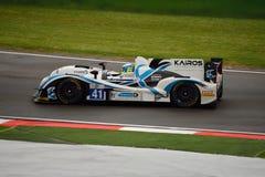 European Le Mans Series LMP2 Prototype at Imola 2015 Royalty Free Stock Photo