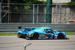 European Le Mans Series Sports Prototype Stock Photo