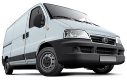 European light commercial vehicle Stock Image