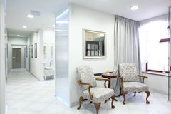 European luxury medical clinic. Brand new and empty european luxury medical clinic stock photo