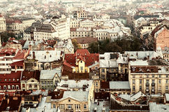 The European Lviv Royalty Free Stock Images