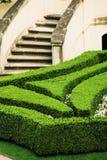 European mansion garden Stock Photos