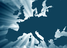 European map concept Royalty Free Stock Image