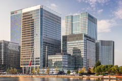 The European Medicines Agency Canary Wharf HQ Royalty Free Stock Image