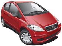 European Modern Minivan Stock Image