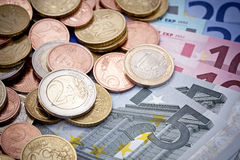 European money Royalty Free Stock Photo