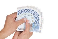 European money Royalty Free Stock Photography