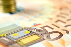 European money. For business and commercial applications Royalty Free Stock Image