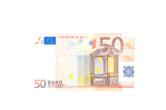 European money. In white background Royalty Free Stock Image