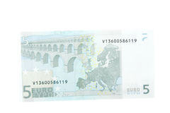 European money. In white background Royalty Free Stock Images
