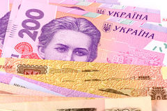 European money close up Stock Photography