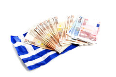 European money crisis Royalty Free Stock Images