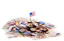 European money crisis Stock Photos