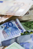 European Money Royalty Free Stock Image