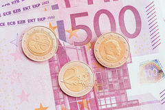 European money. Royalty Free Stock Images