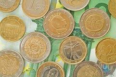 European money. Royalty Free Stock Photo