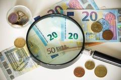 View of the European  money /  Euro Stock Photos
