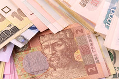 European money set background Stock Photo