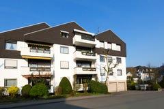 European multiapartment house Stock Images